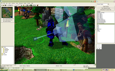 Warcraft iii world editor thank you for playing to create pre made view points and the trigger system allows them to be manipulated everything one might expect a camera to do the editor can do it gumiabroncs Image collections